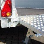 Ifor Williams transporter 366x178cm 3500kg machinetransporter Aanhangwagens XXL West Brabant verlichting
