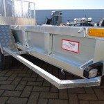 Ifor Williams transporter 366x178cm 3500kg machinetransporter Aanhangwagens XXL West Brabant zijaanzicht