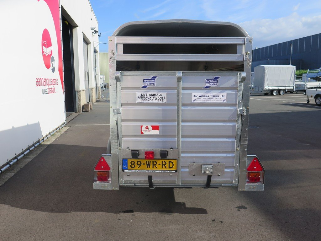 Ifor Williams veetrailer 244x121x153cm 1400kg Ifor Williams veetrailer 244x121x153cm 1400kg Aanhangwagens XXL West Brabant 2.0 achter dicht