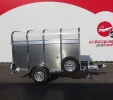 Ifor Williams veetrailer 244x121x153cm 1400kg Aanhangwagens XXL West Brabant 2.0 hoofd Aanhangwagens XXL West Brabant