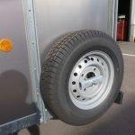 Ifor Williams veetrailer 244x121x153cm 1400kg Ifor Williams veetrailer 244x121x153cm 1400kg Aanhangwagens XXL West Brabant 2.0 reservewiel