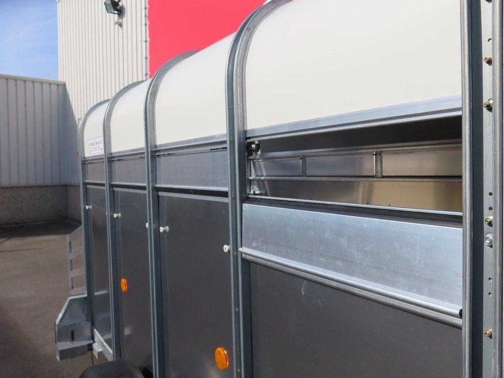Ifor Williams veetrailer 244x121x153cm 1400kg Ifor Williams veetrailer 244x121x153cm 1400kg Aanhangwagens XXL West Brabant 2.0 ventilatie