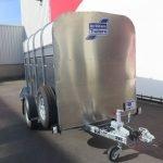 Ifor Williams veetrailer 244x121x153cm 1400kg Ifor Williams veetrailer 244x121x153cm 1400kg Aanhangwagens XXL West Brabant 2.0 voorkant
