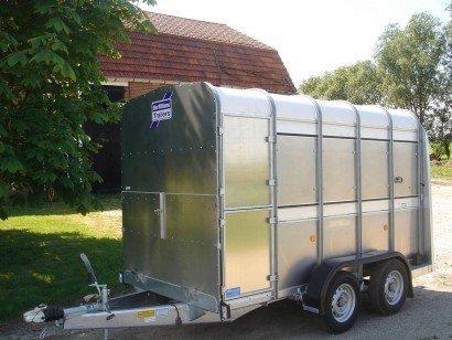 Ifor Williams veetrailer 304x156x183cm veetrailers Aanhangwagens XXL West Brabant hoofd Aanhangwagens XXL West Brabant