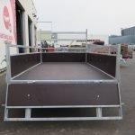 Loady tandemas aanhanger 254x130cm 750kg Aanhangwagens XXL West Brabant 2.0 achter open Aanhangwagens XXL West Brabant