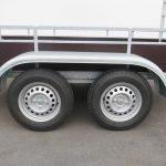 Loady tandemas aanhanger 254x130cm 750kg Aanhangwagens XXL West Brabant 2.0 dubbele as Aanhangwagens XXL West Brabant