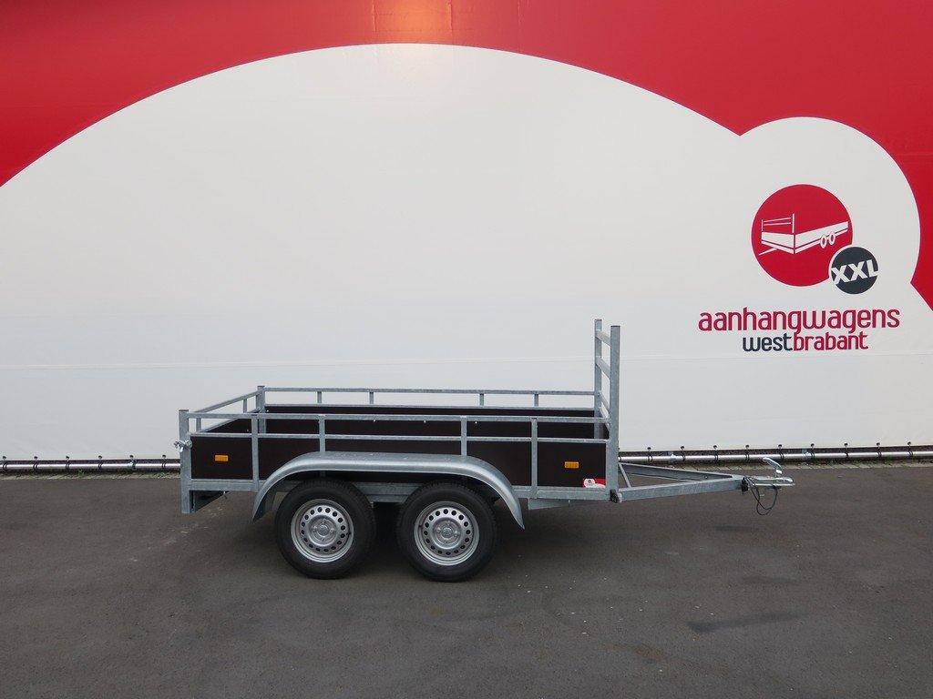 Loady tandemas aanhanger 254x130cm 750kg Aanhangwagens XXL West Brabant 2.0 hoofd Aanhangwagens XXL West Brabant