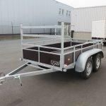 Loady tandemas aanhanger 254x130cm 750kg Aanhangwagens XXL West Brabant 2.0 overzicht Aanhangwagens XXL West Brabant