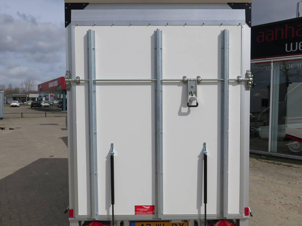 Proline bloemenwagen 304x151x200cm 2500kg Proline bloemenwagen 304x151x200cm bloemenwagens Aanhangwagens XXL West Brabant achterkant