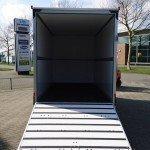 Proline bloemenwagen 407x181x200cm bloemenwagens Aanhangwagens XXL West Brabant achterkant geopend Aanhangwagens XXL West Brabant