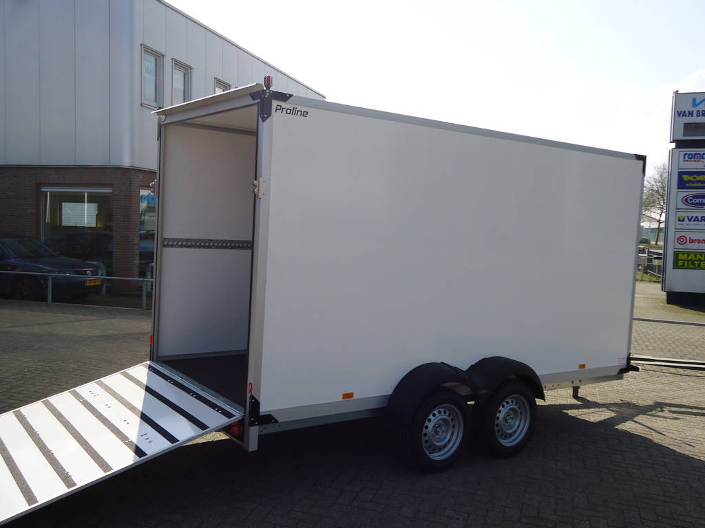 Proline bloemenwagen 407x181x200cm bloemenwagens Aanhangwagens XXL West Brabant overzicht Aanhangwagens XXL West Brabant