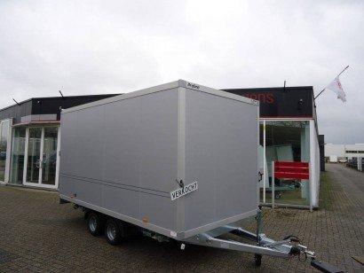 Proline gesloten 401x201x200cm 2500kg gesloten aanhangwagens Aanhangwagens XXL West Brabant hoofd Aanhangwagens XXL West Brabant