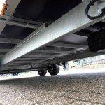 Proline gesloten 606x204x210cm 3000kg gesloten aanhangwagens Aanhangwagens XXL West Brabant chassis Aanhangwagens XXL West Brabant