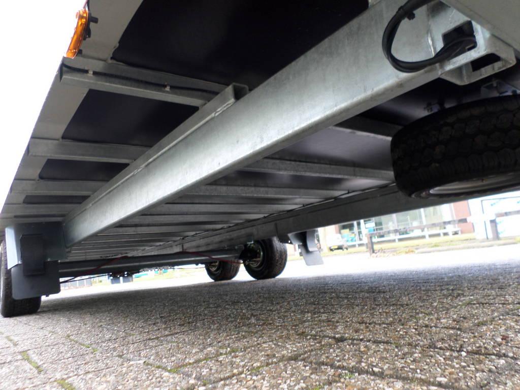 Proline gesloten 606x204x210cm 3000kg gesloten aanhangwagens Aanhangwagens XXL West Brabant chassis