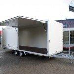 Proline gesloten 606x204x210cm 3000kg gesloten aanhangwagens Aanhangwagens XXL West Brabant zijklep Aanhangwagens XXL West Brabant