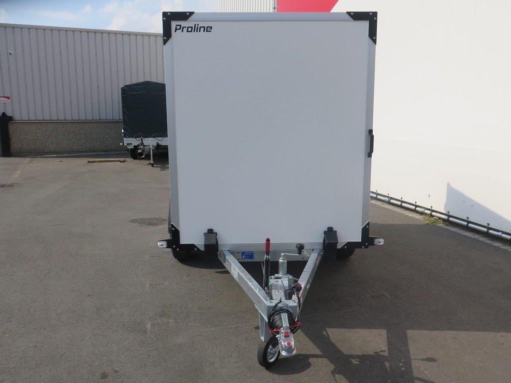 Proline gesloten aanhanger 251x132x152cm 1300kg
