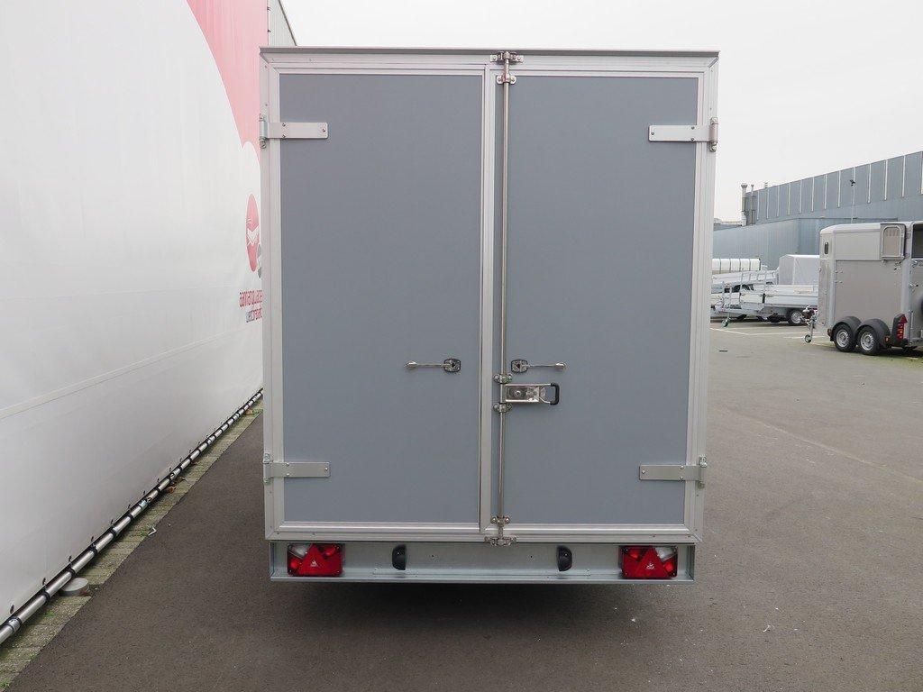 Proline gesloten aanhanger 425x175x190cm 2600kg Aanhangwagens XXL West Brabant achter dicht Aanhangwagens XXL West Brabant