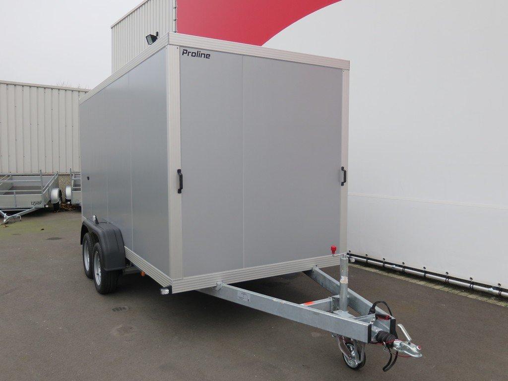 Proline gesloten aanhanger 425x175x190cm 2600kg Aanhangwagens XXL West Brabant voorkant Aanhangwagens XXL West Brabant