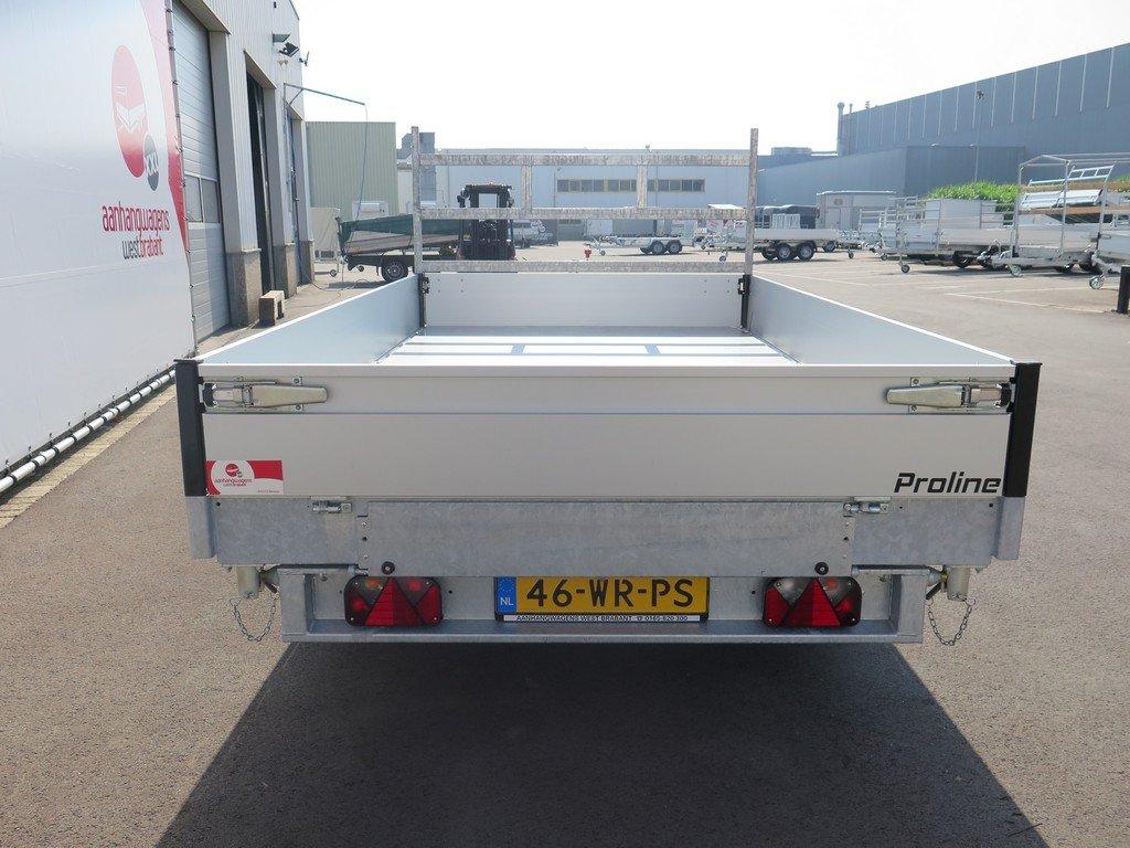 Proline kipper 331x185cm 2850kg Proline kipper 331x185cm 2700kg Aanhangwagens XXL West Brabant achterkant