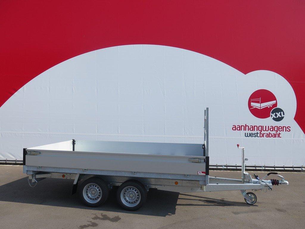 Proline kipper 331x185cm 2850kg Proline kipper 331x185cm 2700kg Aanhangwagens XXL West Brabant zijkant