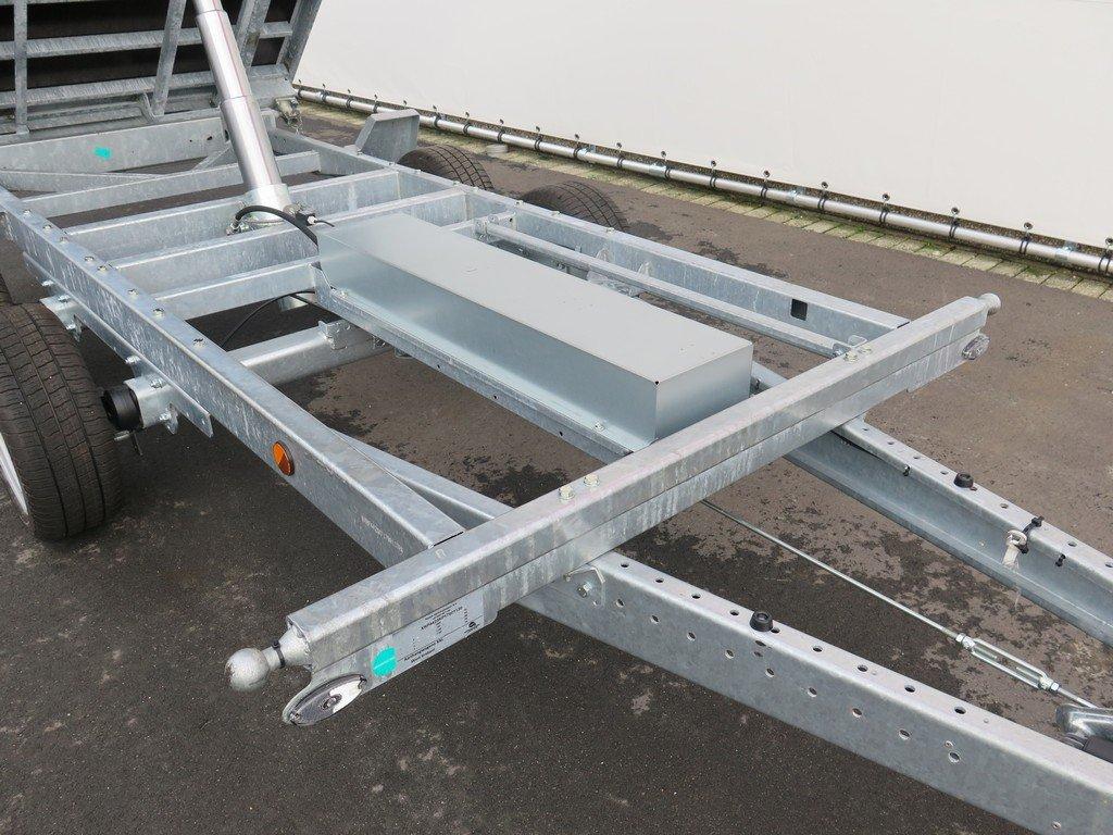 Proline kipper 351x185cm 3500kg Aanhangwagens XXL West Brabant 3.0 onderstel