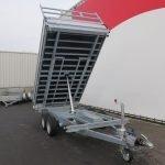 Proline kipper 351x185cm 3500kg Aanhangwagens XXL West Brabant 3.0 voorkant Aanhangwagens XXL West Brabant