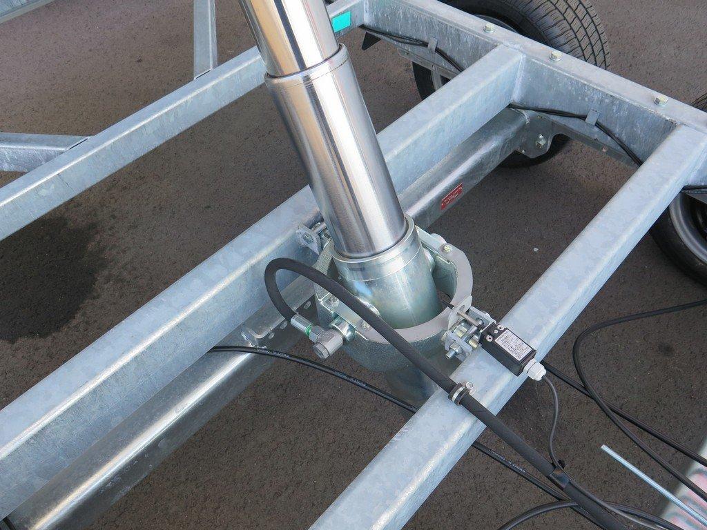 Proline kipper 401x202cm 3500kg tridemas Aanhangwagens XXL West Brabant 2.0 cilinder Aanhangwagens XXL West Brabant