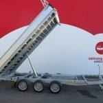 Proline kipper 401x202cm 3500kg tridemas Aanhangwagens XXL West Brabant 2.0 hoofd Aanhangwagens XXL West Brabant