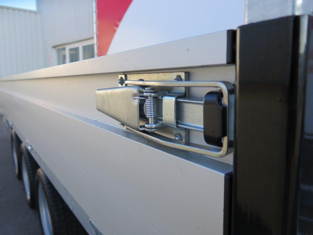 Proline kipper 401x202cm 3500kg tridemas Aanhangwagens XXL West Brabant 2.0 sluitingen Aanhangwagens XXL West Brabant