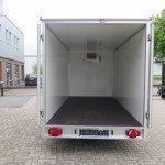 Proline koelaanhanger 400x175x180cm koelaanhangwagens Aanhangwagens XXL West Brabant achterkant open 2.0 Aanhangwagens XXL West Brabant