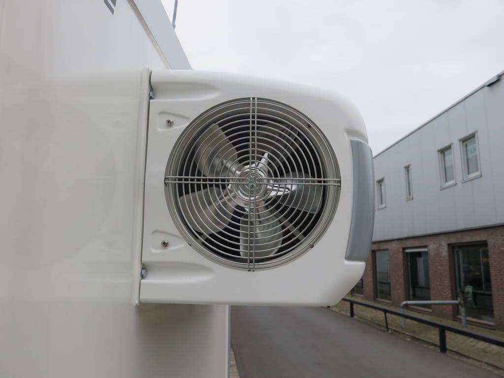 Proline koelaanhanger 400x175x180cm koelaanhangwagens Aanhangwagens XXL West Brabant koelmotor zijkant 2.0 Aanhangwagens XXL West Brabant