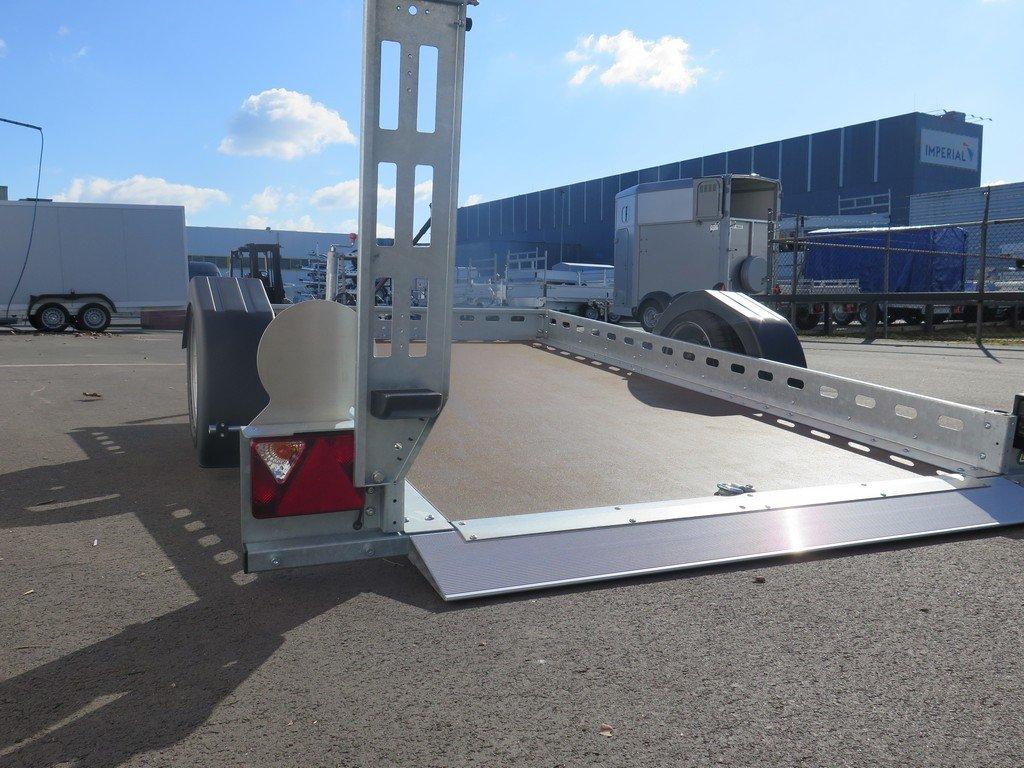 Proline motortrailer 260x155cm 1400kg zakbaar Aanhangwagens XXL West Brabant 3.0 gezakt Aanhangwagens XXL West Brabant