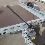 Proline motortrailer 260x155cm 1400kg zakbaar Aanhangwagens XXL West Brabant 3.0 handpomp Aanhangwagens XXL West Brabant