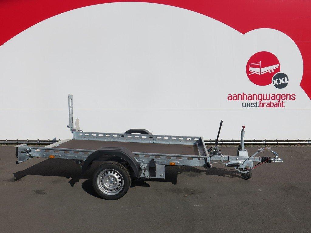 Proline motortrailer 260x155cm 1400kg zakbaar Aanhangwagens XXL West Brabant 3.0 vlak Aanhangwagens XXL West Brabant