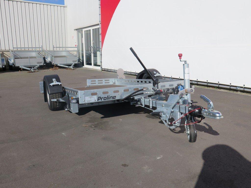 Proline motortrailer 260x155cm 1400kg zakbaar Aanhangwagens XXL West Brabant 3.0 voorkant Aanhangwagens XXL West Brabant