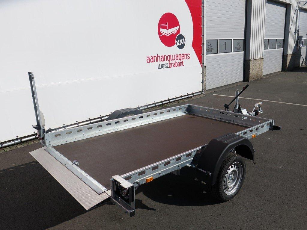 Proline motortrailer 260x155cm 1400kg zakbaar Aanhangwagens XXL West Brabant 3.0 zijkant Aanhangwagens XXL West Brabant