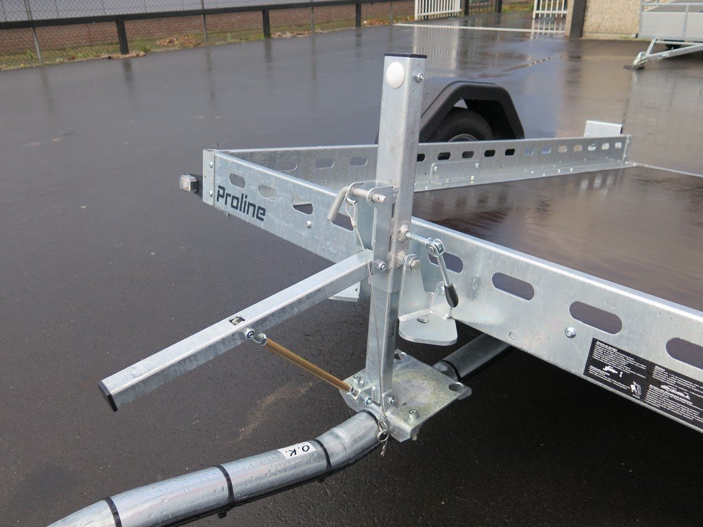 Proline motortrailer 260x155cm 750kg zakbaar Aanhangwagens XXL West Brabant 2.0 pomp Aanhangwagens XXL West Brabant