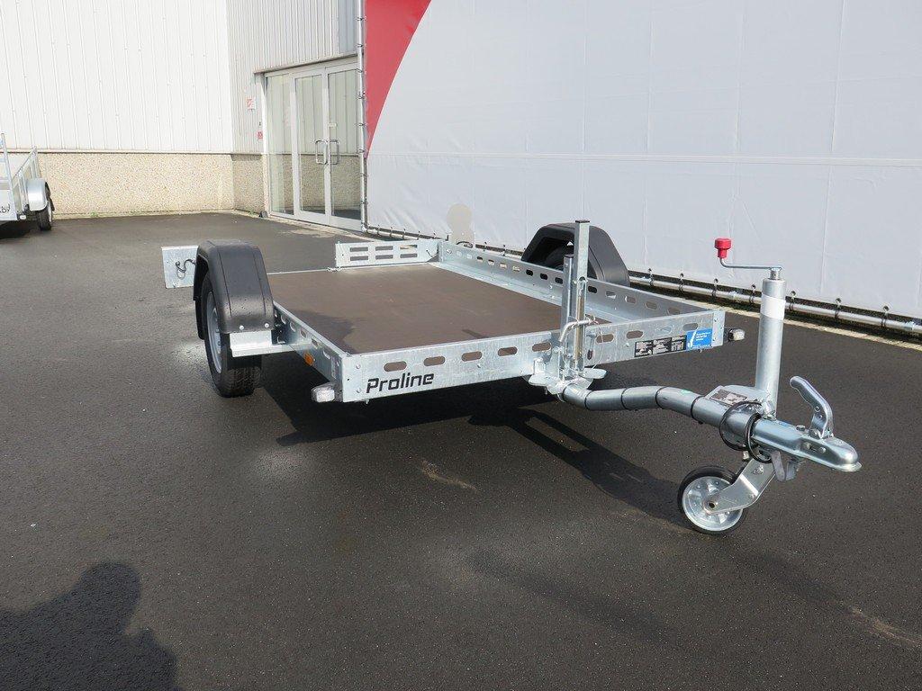 Proline motortrailer 260x155cm 750kg zakbaar Aanhangwagens XXL West Brabant 2.0 vlak Aanhangwagens XXL West Brabant