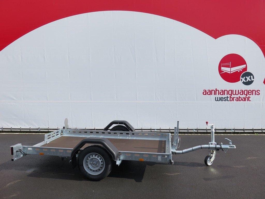 Proline motortrailer 260x155cm 750kg zakbaar Aanhangwagens XXL West Brabant 2.0 zijkant Aanhangwagens XXL West Brabant