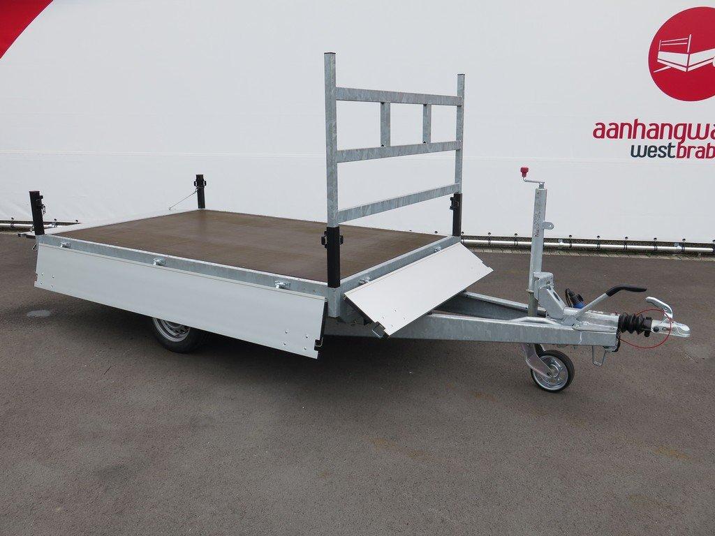 Proline plateauwagen 251x155cm 1500kg Proline plateauwagen 251x155cm 1350kg Aanhangwagens XXL West Brabant 3.0 volledig vlak