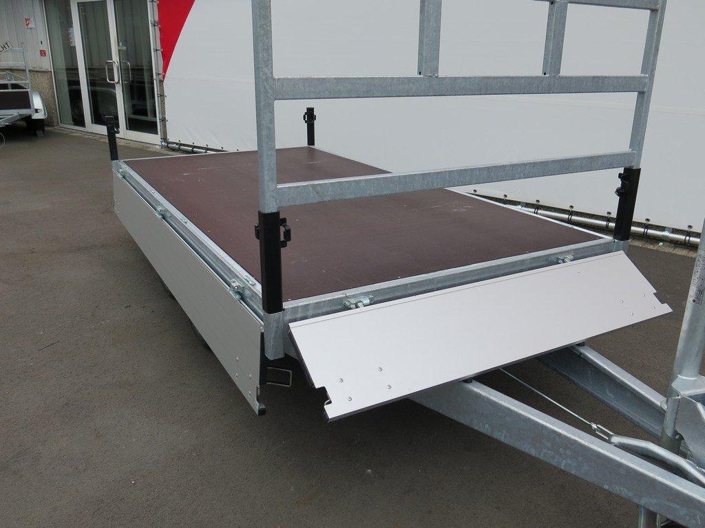 Proline plateauwagen 301x155cm 2000kg Aanhangwagens XXL West Brabant 6.0 volledig vlak Aanhangwagens XXL West Brabant