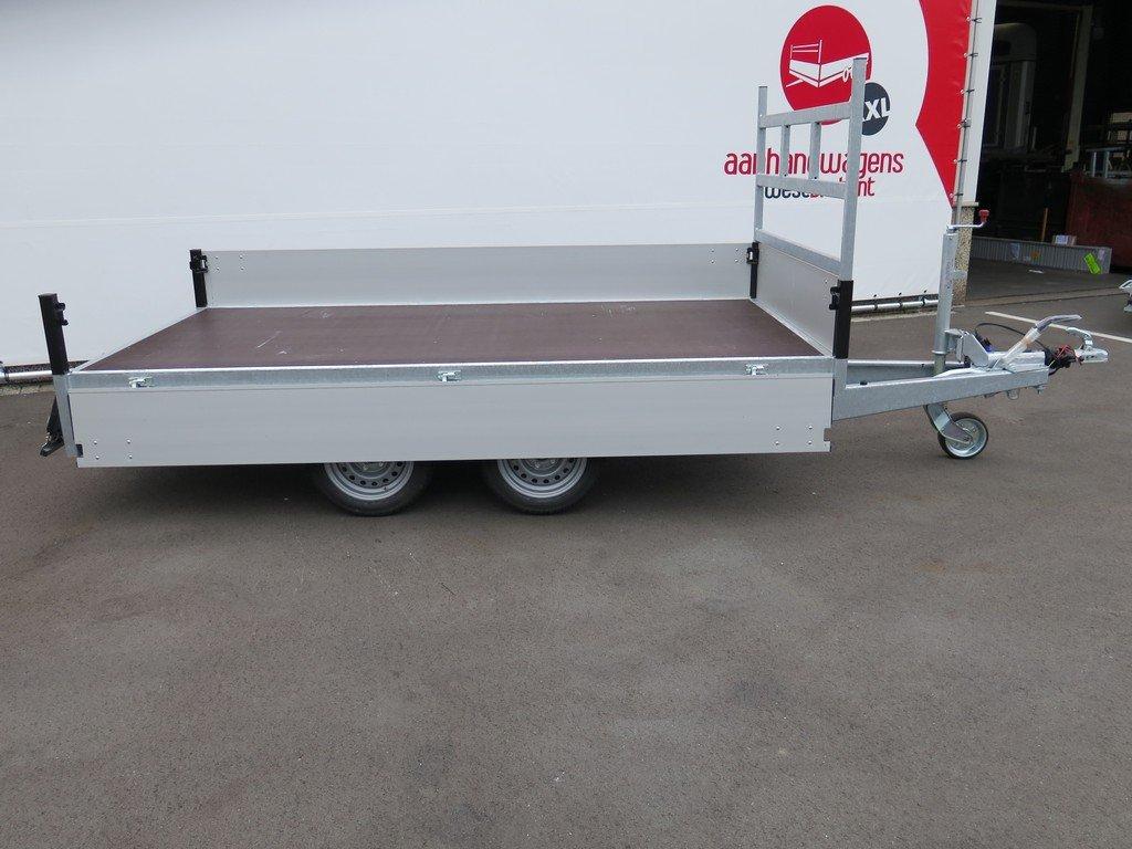 Proline plateauwagen 301x155cm 2000kg Aanhangwagens XXL West Brabant 6.0 zijkant open Aanhangwagens XXL West Brabant