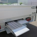 Proline plateauwagen 301x185cm 2700kg verlaagd Aanhangwagens XXL West Brabant 2.0 afsluitbare slede Aanhangwagens XXL West Brabant