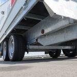 Proline plateauwagen 301x185cm 2700kg verlaagd Aanhangwagens XXL West Brabant 2.0 touwhaken rondom Aanhangwagens XXL West Brabant