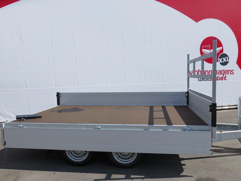 Proline plateauwagen 301x185cm 2700kg verlaagd Aanhangwagens XXL West Brabant 2.0 vlak Aanhangwagens XXL West Brabant