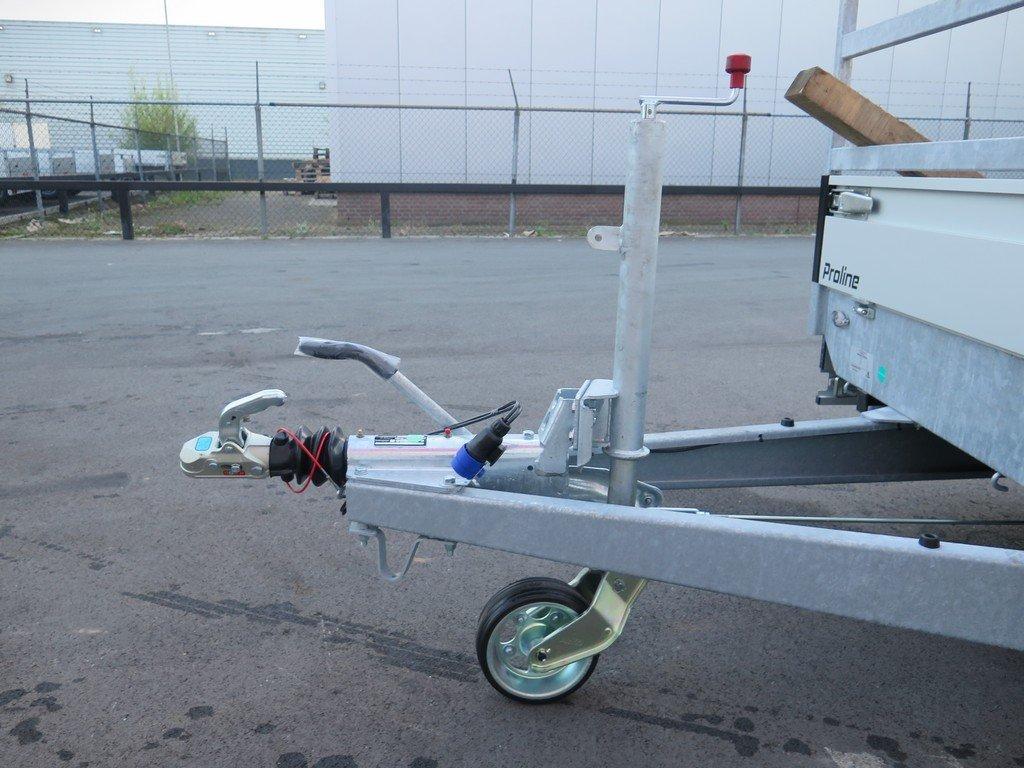 Proline plateauwagen 351x185cm 2700kg verlaagd Aanhangwagens XXL West Brabant 2.0 dissel Aanhangwagens XXL West Brabant