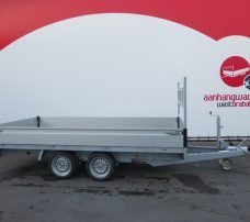 Proline plateauwagen 351x185cm 2700kg verlaagd Aanhangwagens XXL West Brabant 2.0 hoofd Aanhangwagens XXL West Brabant