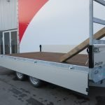 Proline plateauwagen 351x185cm 2700kg verlaagd Aanhangwagens XXL West Brabant 2.0 vlak Aanhangwagens XXL West Brabant