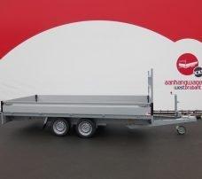 Proline plateauwagen 401x185cm 2700kg verlaagd Aanhangwagens XXL West Brabant 3.0 hoofd Aanhangwagens XXL West Brabant
