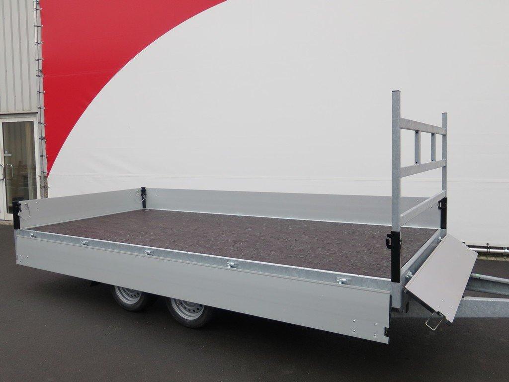 Proline plateauwagen 401x185cm 2700kg verlaagd Aanhangwagens XXL West Brabant 3.0 vlak Aanhangwagens XXL West Brabant